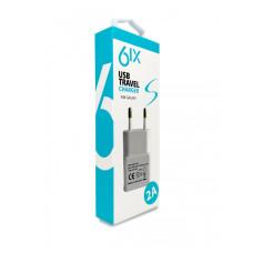 6IX 2A USB Сетевое зарядное устройство