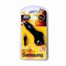 ATS 1A Micro USB Автомобильное зарядное устройство со встроенным 1.5M кабелем