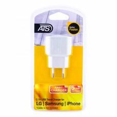 ATS 2.1A USB Сетевой адаптер